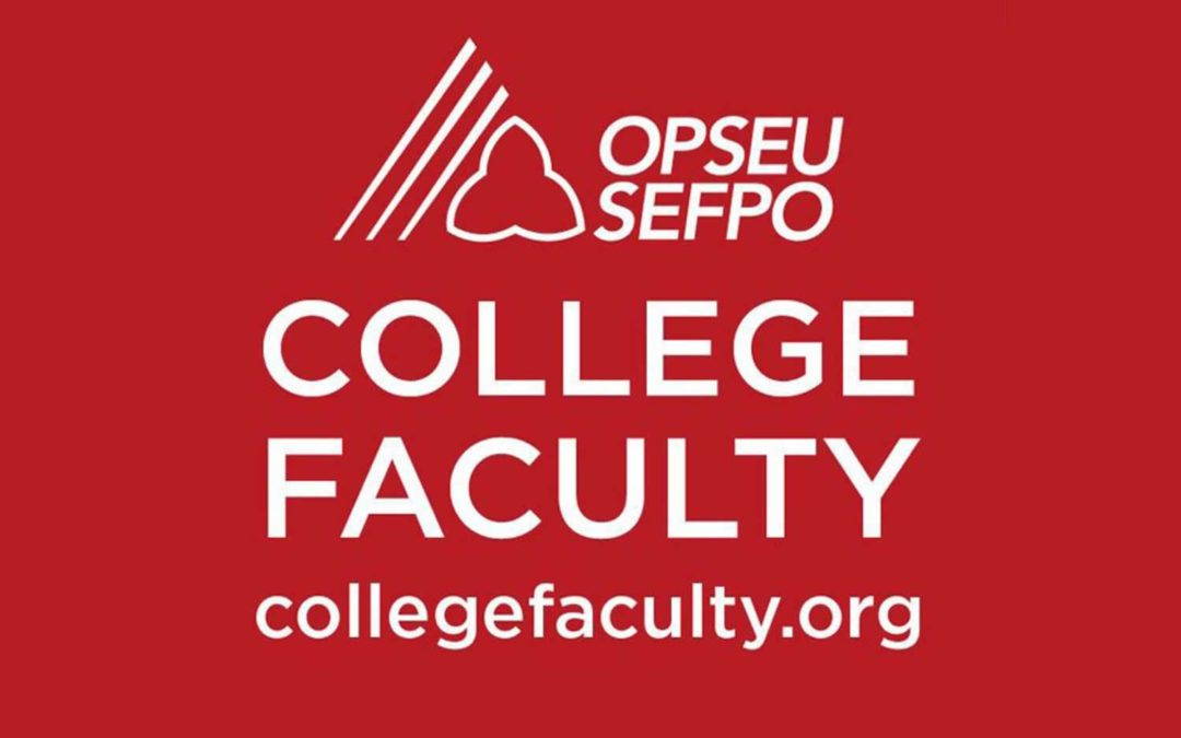 Progress made in struggle to count part-time/sessional college faculty votes